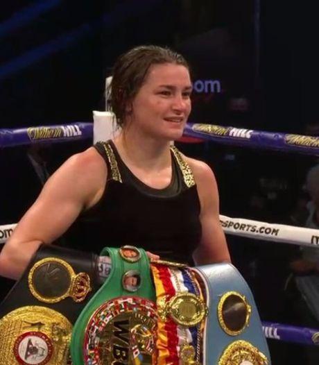 Op dominante bokslegende Katie Taylor staat geen maat in titelgevecht