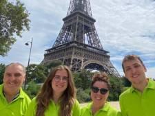 Udense familie Van Bommel haalt Parijs, actie voor KWF loopt door: 'Dit is zo mooi'