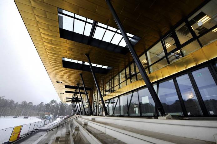 Het nieuwe trainingscomplex van Vitesse. Foto: Hans Broekhuizen/DG