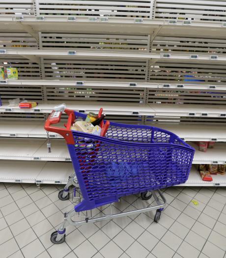 Ces Carrefour n'ont pas ouvert leurs portes ce matin