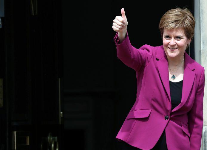 La Première ministre écossaise, l'indépendantiste Nicola Sturgeon.