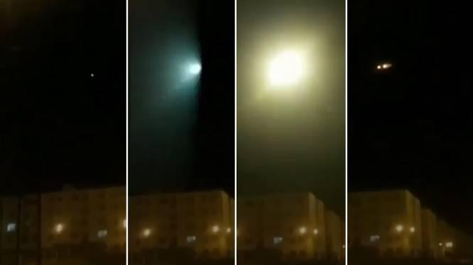 Video toont moment waarop Oekraïens vliegtuig geraakt wordt door raket