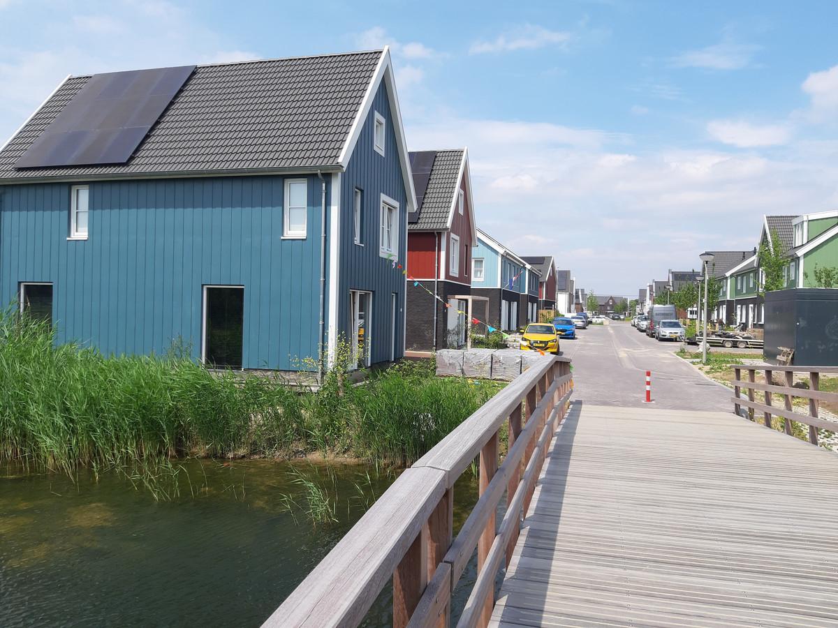 De dit jaar opgeleverde Scandinavische buurt in de wijk Schuytgraaf in Arnhem.