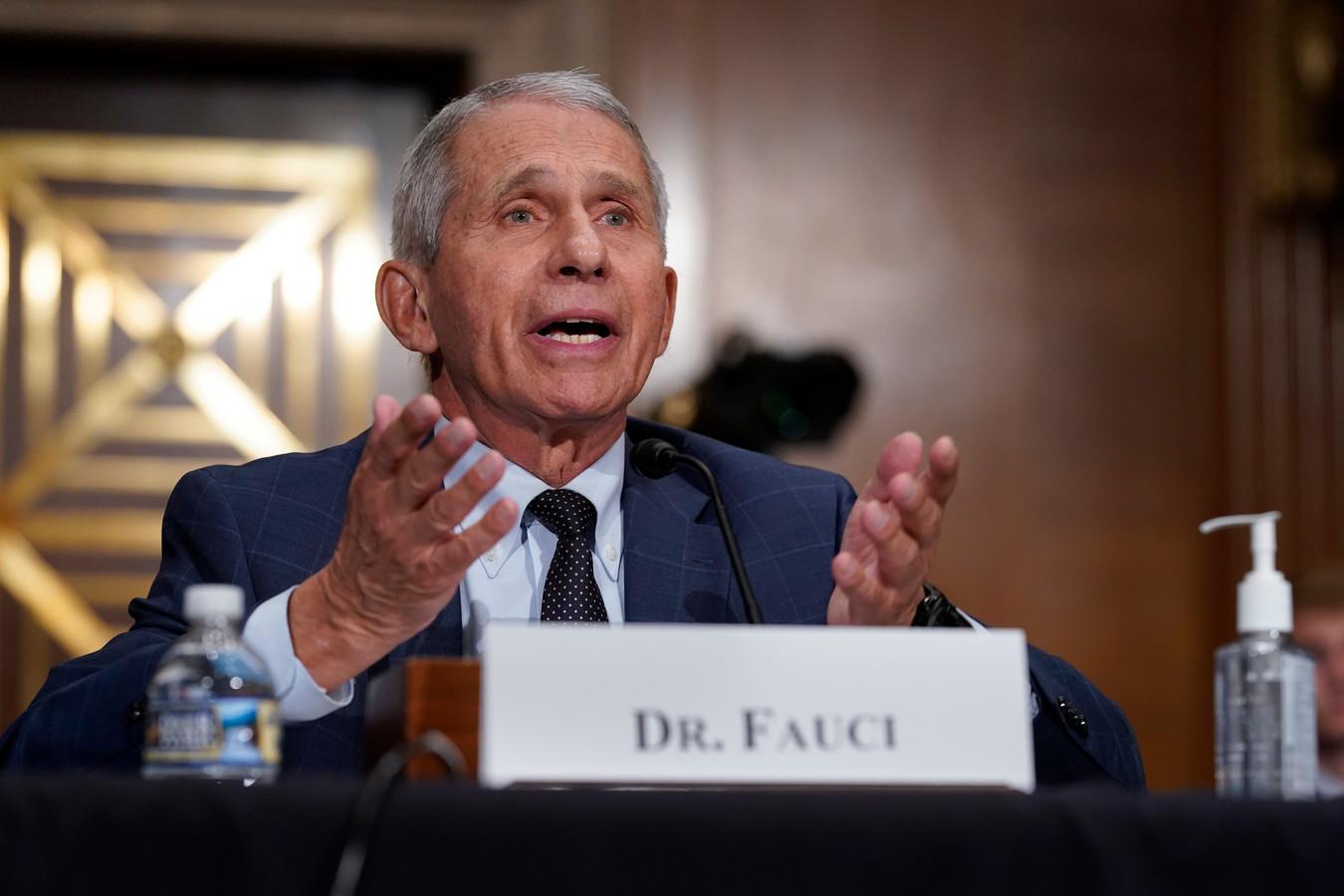 Le Dr Anthony Fauci, expert en maladies infectieuses.