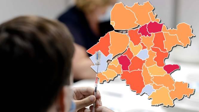 KAART | Besmettingkaart kleurt steeds donkerder: Staphorst blijft dé coronahaard van Nederland