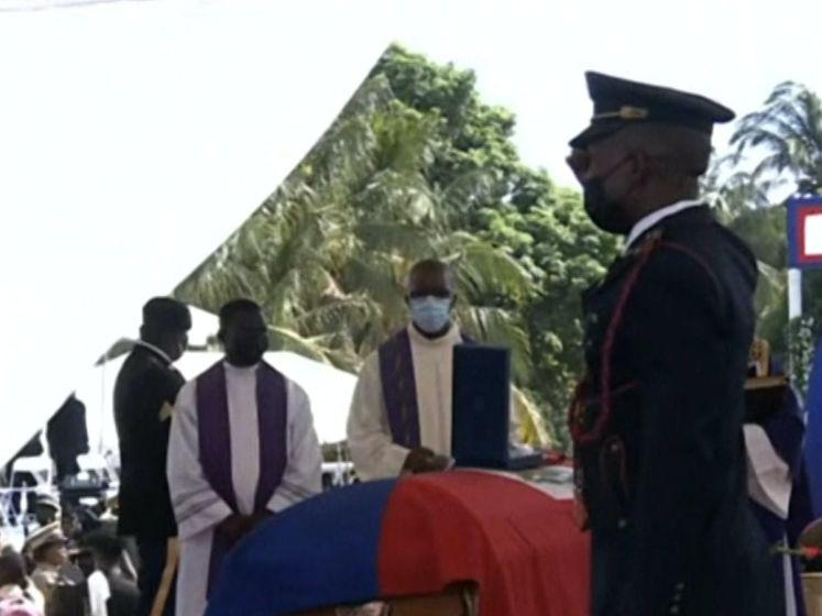 Vermoorde president Haïti begraven