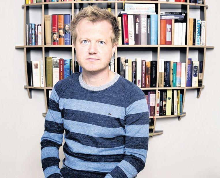 Als 'geboren leraar' kreeg Van der Werf al na een jaar een eigen klas. Opeens stond hij er alleen voor Beeld Jörgen Caris