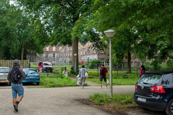 Arbeidsmigranten hebben hun intrek genomen op Landgoed Haarendael