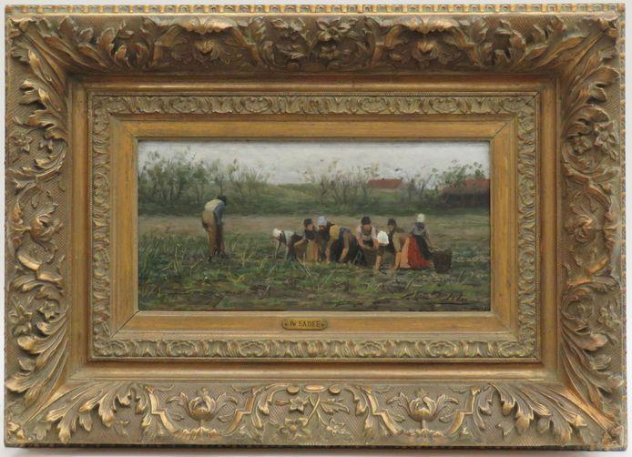 'Aardappelrooiers' van Philip Sadée.