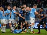 Lazio dient Internazionale eerste nederlaag toe, Dumfries woedend