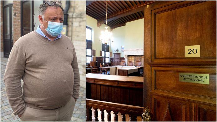 Marc Van Ranst stond vandaag opnieuw voor de rechter in Mechelen na een nieuwe klacht van coronascepticus Willem Engel