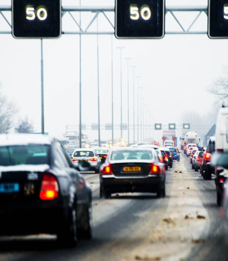 Drukste spits aller tijden: Ruim 1000 kilometer file