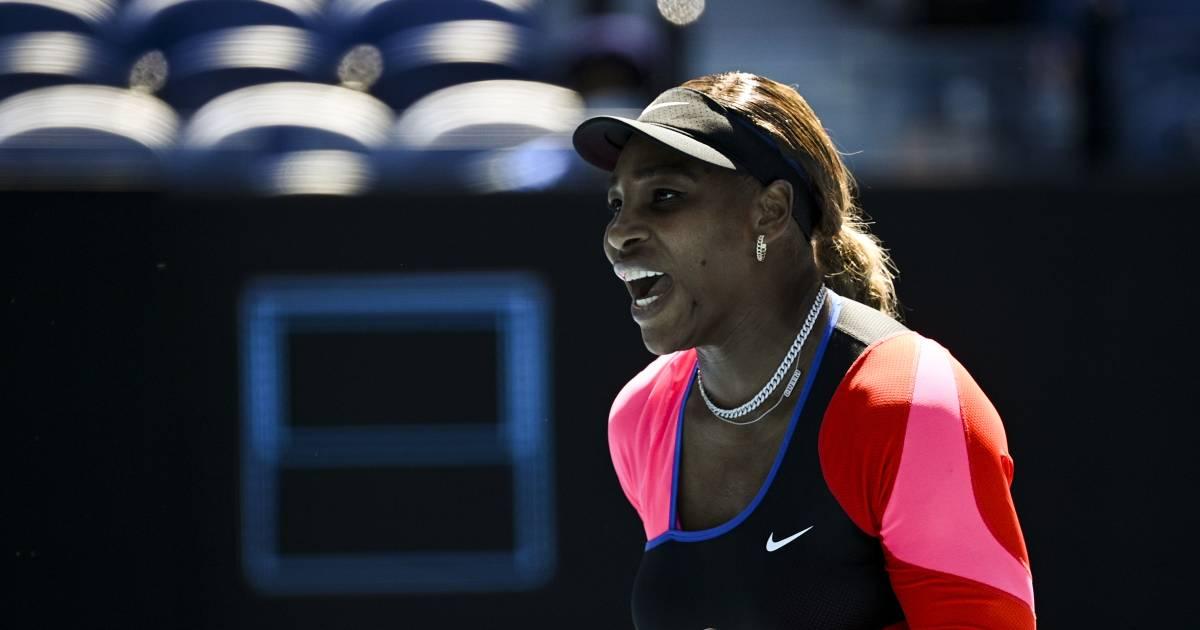 Heerlijke ralley op Australian Open: Williams lacht al voordat ze het punt binnen heeft - AD.nl