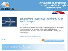 Website condoleance.nl heeft nu al meeste reacties dit jaar