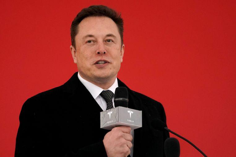 Tesla CEO Elon Musk Beeld REUTERS