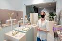 Suzanne Monkel van sieradenwinkel Su Suis Studio in Arnhem.