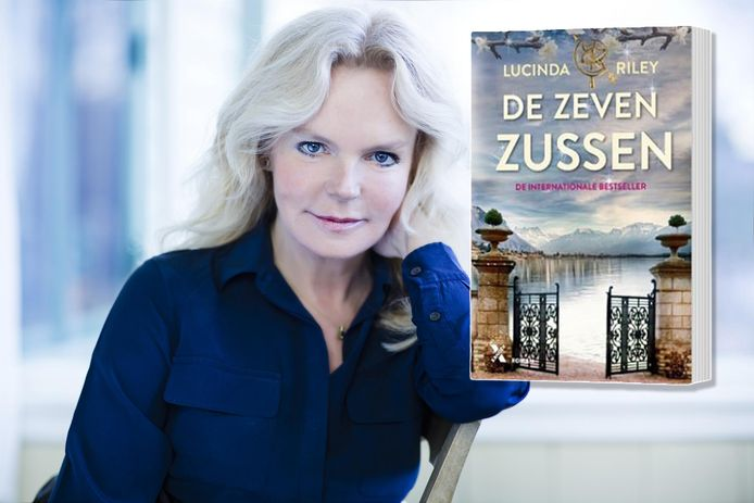 Lucinda Riley, auteur van de zevendelige serie De Zeven Zussen.