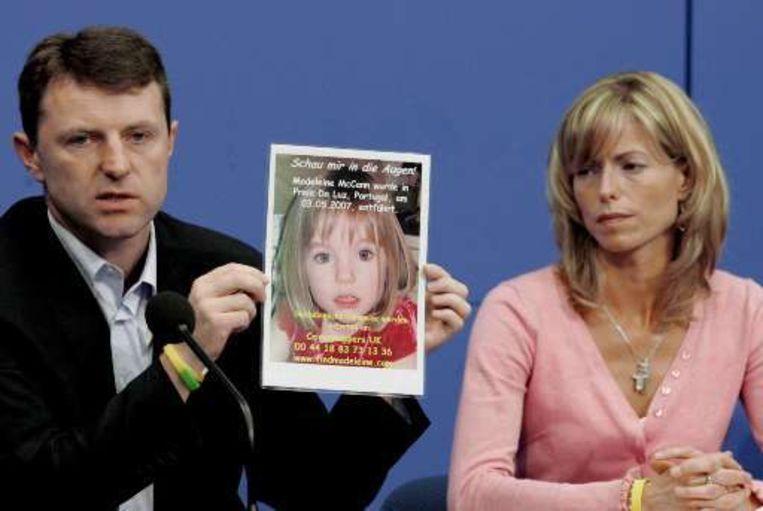 Gerry en Kate, de ouders van Madeleine McCann. Beeld AFP