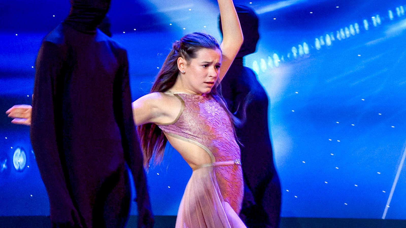 Lana Verkest scoorde tijdens de audities van Belgium's Got Talent.