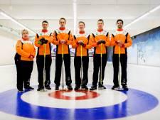 Curlingmannen opnieuw onderuit
