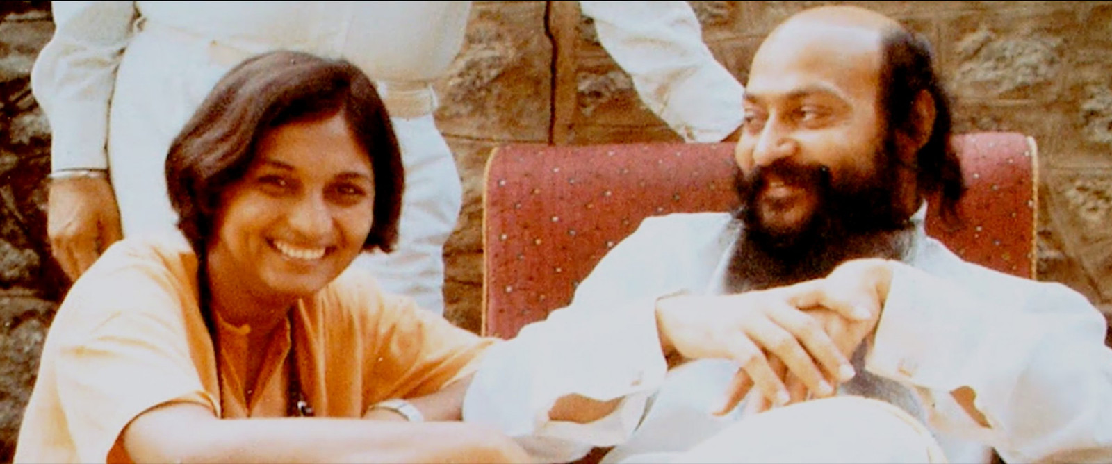 Bhagwans woordvoerster Ma Anand Sheela.