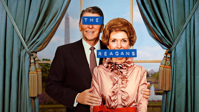 Ronald en Nancy Reagan in 'The Reagans' Beeld TMDB