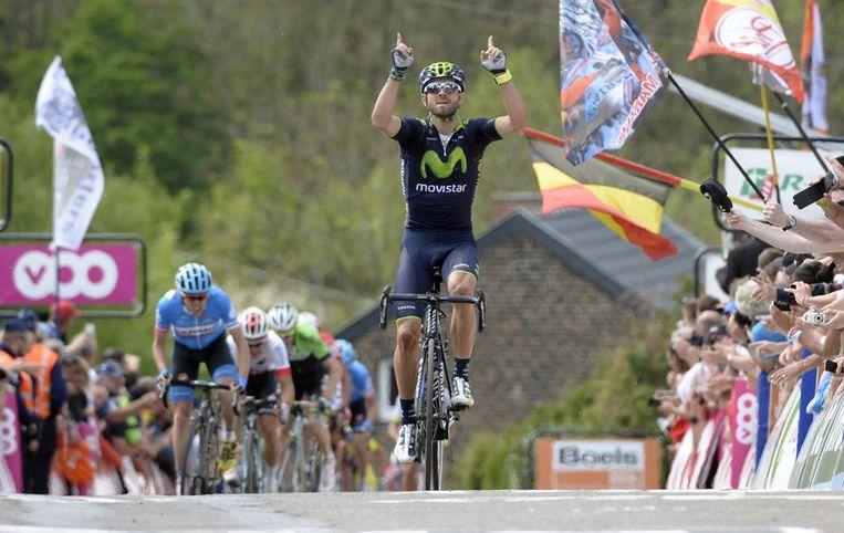 Zege nummer twee voor Valverde in de Waalse Pijl Beeld PHOTO_NEWS