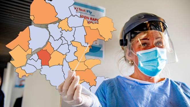 KAART   Hoogste besmettingsgraad in Nunspeet, flinke stijging positieve tests in Noordoostpolder