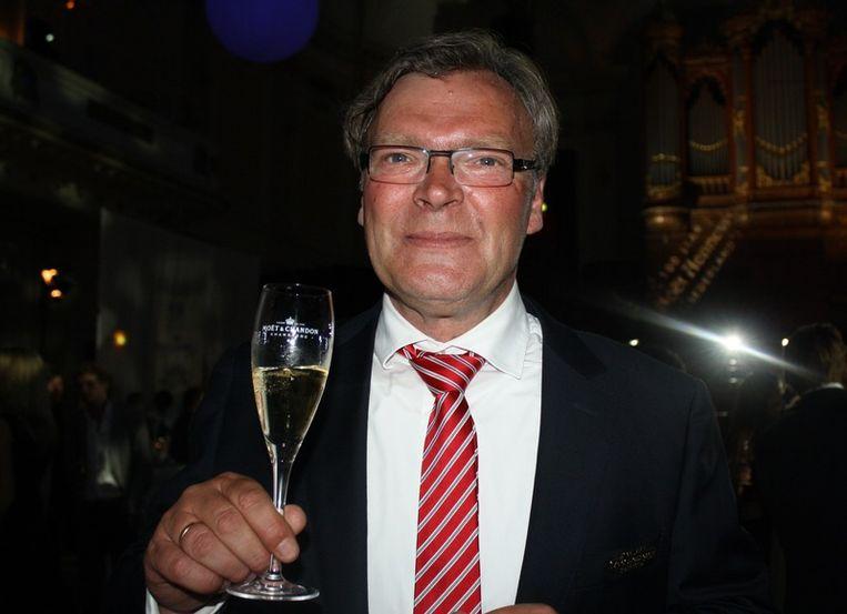 Bob Bron, directeur van Moet Hennessy: 'Dit is een modern feestje in een  klassieke setting.'<br /> Beeld