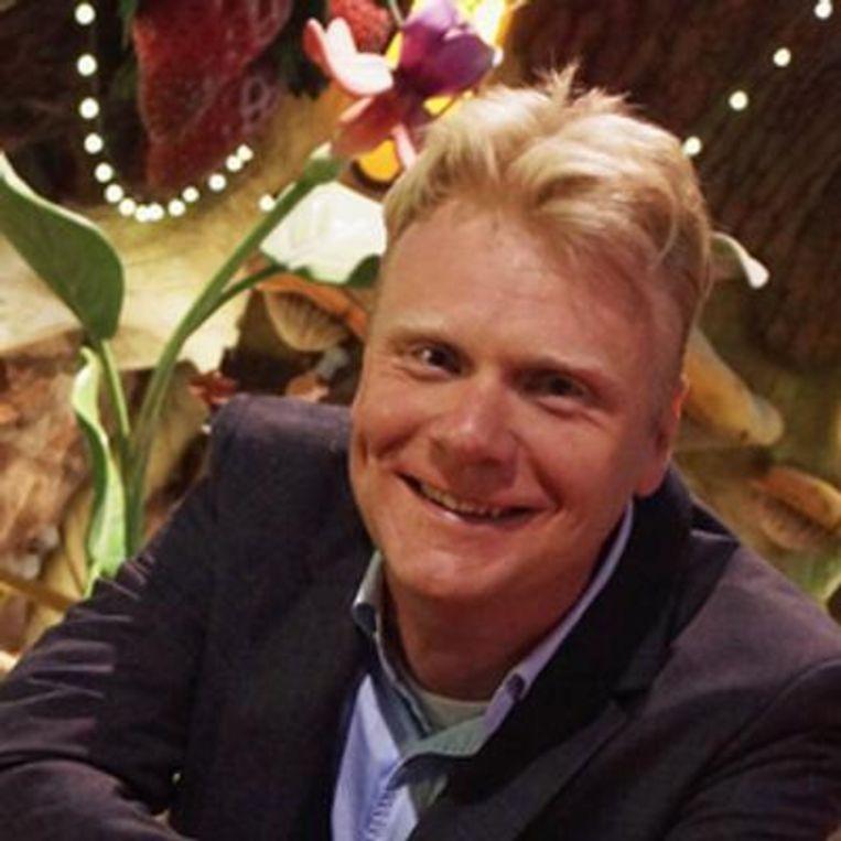 Steve Van den Kerkhof, CEO van de Plopsa Group. Beeld Twitter