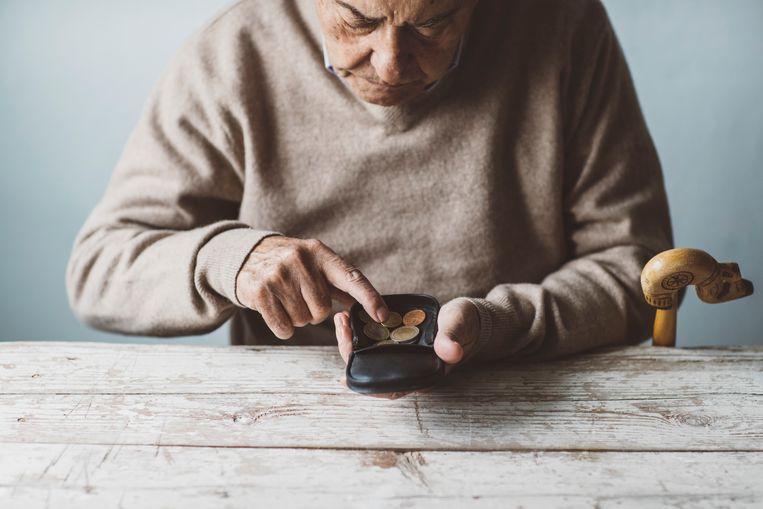 De helft van de 18- tot 40-jarigen verwacht na hun pensioen niet meer comfortabel te kunnen leven. Beeld Getty Images