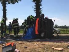 Bestuurder bekneld na ongeval in Esch