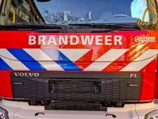 Natuurbrand aan Lendersgat in Vorstenbosch, heide gedeeltelijk afgebrand