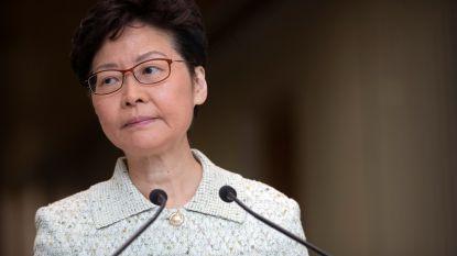 Uitleveringswet Hongkong officieel van tafel