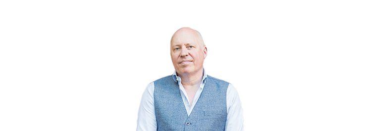 Pieter Waterdrinker column Beeld de Volkskrant