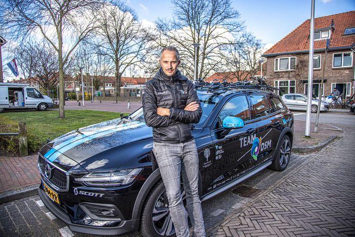 Wilbert Broekhuizen kijkt terug op zijn eerste vier maanden als ploegleider van Team DSM.