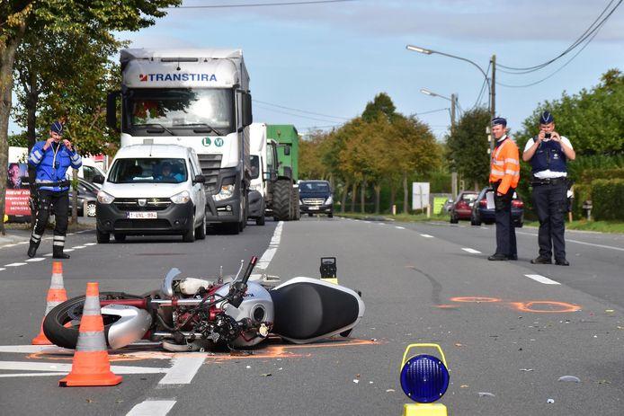 In oktober 2018 stierf er een 36-jarige motorrijder op de Ruiseleedsesteenweg