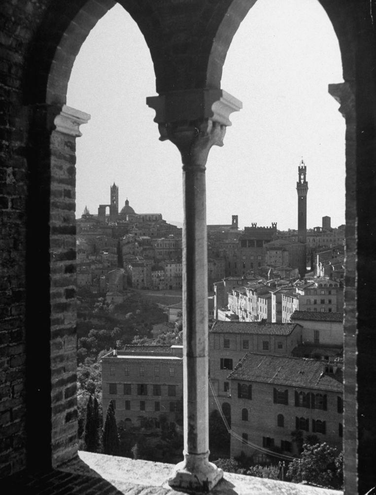 Siena in 1946. Beeld Getty