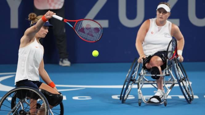 Paralympisch goud voor Diede de Groot en Aniek van Koot in dubbelspel