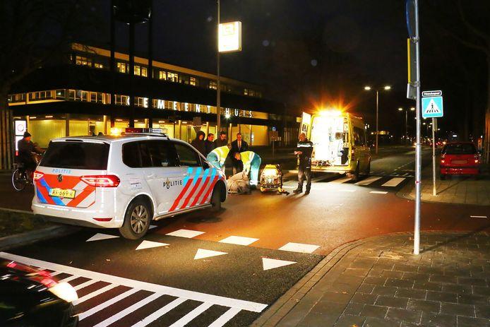 Fietsster gewond na aanrijding in Oss