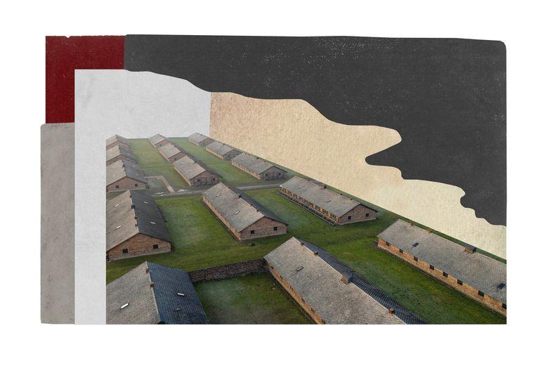 De barakken van Auschwitz Beeld Lynne Brouwer