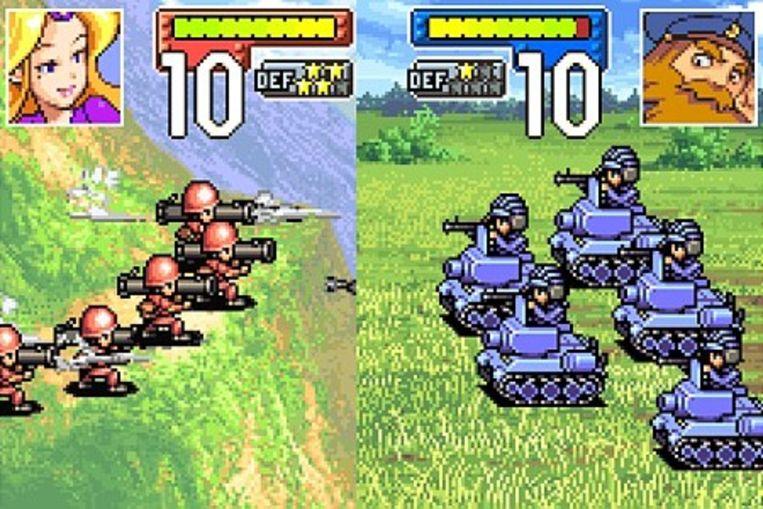 Advance Wars Beeld Nintendo