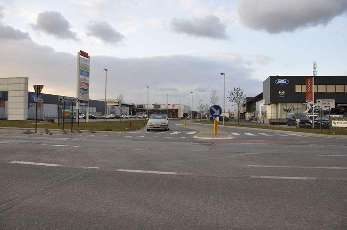 Het Pareinpark zal bereikbaar blijven voor het verkeer komende van Melsele.