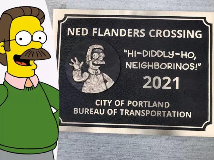 Ned Flanders possède désormais un pont à son nom à Portland, aux États-Unis.
