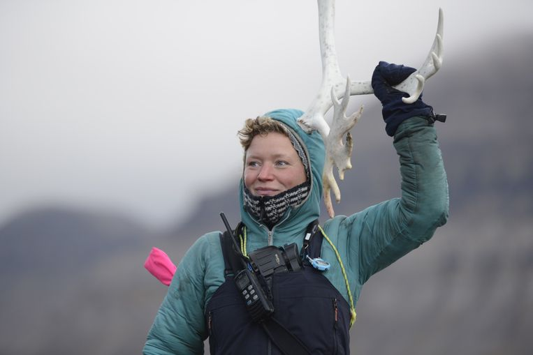 Sarah Gerats woont op Spitsbergen. Beeld rv
