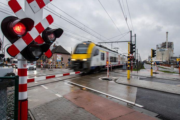 Tussen Tielt en Deinze zijn voorlopig geen treinen mogelijk.