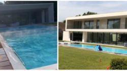 Vakantiemodus: Kevin en Michèle De Bruyne genieten in prachtige nieuwe villa in Limburg