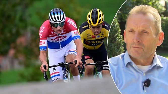 """Adrie van der Poel: """"Ik heb gigantisch veel bewondering voor Van Aert. Maar ik hoef toch geen supporter van hem te zijn?"""""""