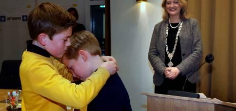 Stralende Samuël is pas tien jaar oud, maar nu al burgemeester van Gorinchem