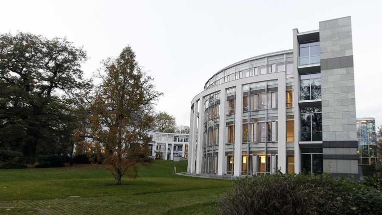 Het Internationaal Zeerechttribunaal in Hamburg. Beeld anp
